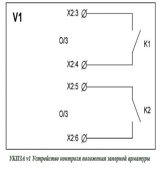 УКПЗА v1 Устройство контроля положения