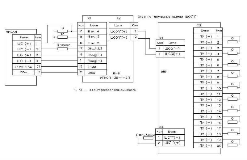 Схема подключения упкоп 135-1-1