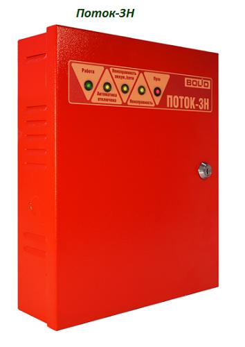 Прибор управления оборудованием насосной станции