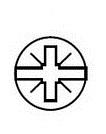 Крестообразный типа Pozidriv + прямой