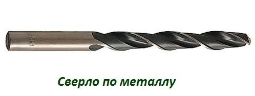 Сверло по металлу