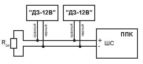 Датчик ДЗ-12В схема