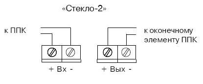 Стекло-2 схема подключения