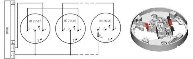 ДИП 87 схема подключения