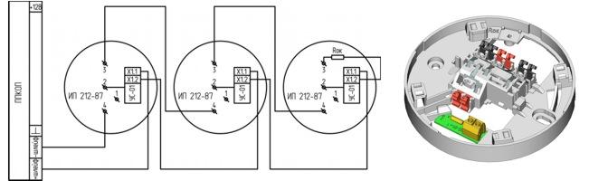 ИП 212 87 УС-01 схема