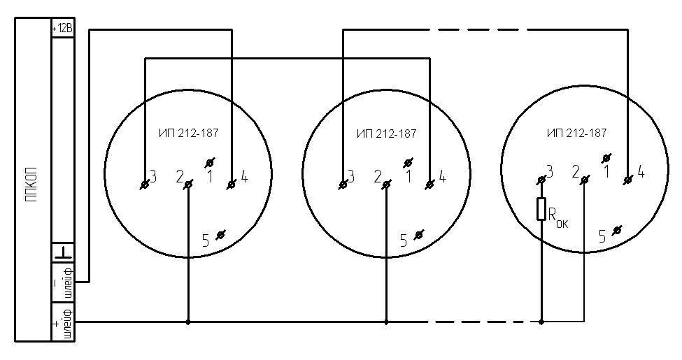 ДИП 187 схема подключения