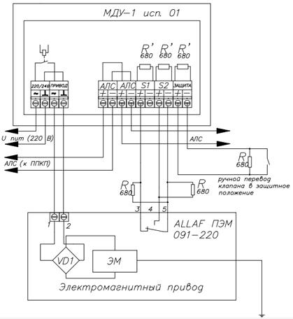 МДУ-1 ALLAF схема