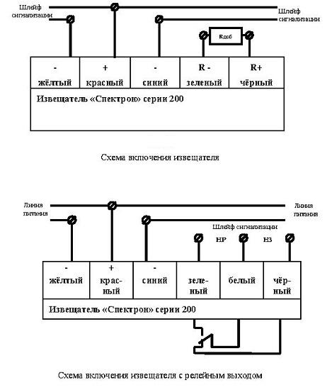 Спектрон 201 схема подключения 423