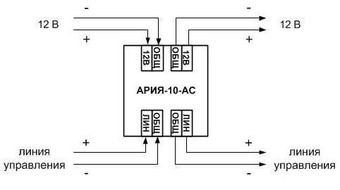 АРИЯ-10-АС схема