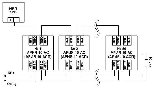 АРИЯ-10-АС схема 1