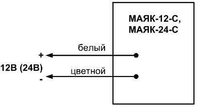 МАЯК-12-С схема