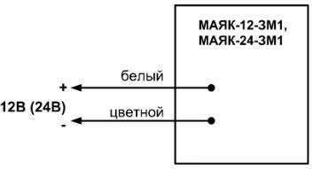 Маяк-12-ЗМ1 схема