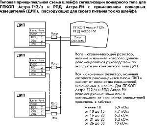 Прибор астра 712 схема