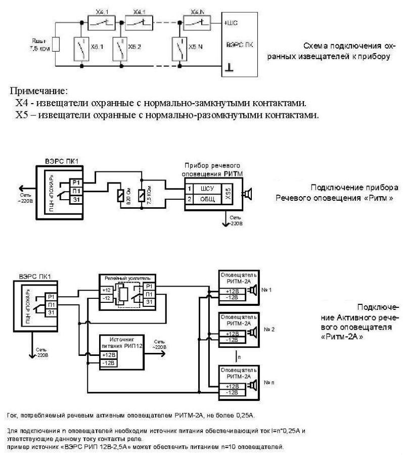Вэрс-пк1-01 Инструкция - фото 4