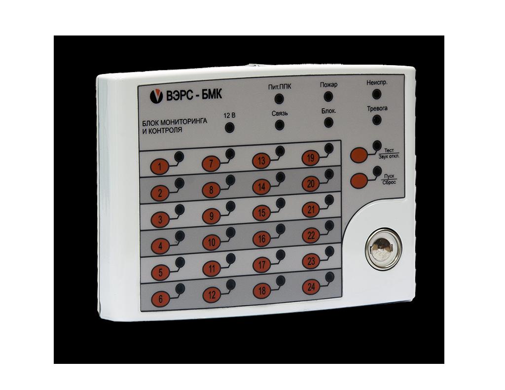 Блок мониторинга и контроля